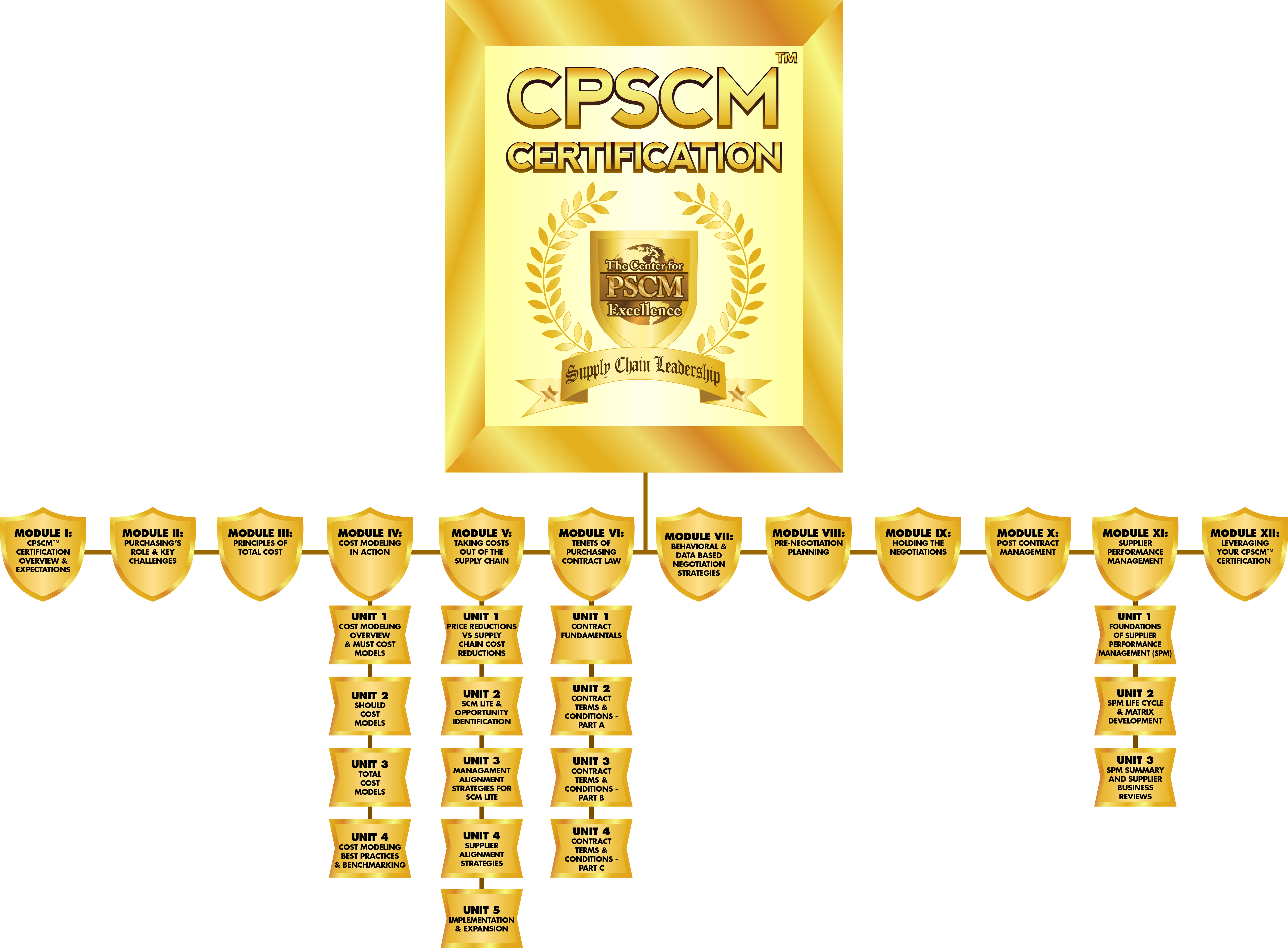 Certification purchasing supply chain management online no other purchasing and supply chain management certification even comes close to teaching these real world skills xflitez Image collections